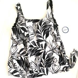 Swimsuits for all•blouson swim knit tank t…